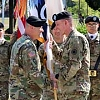 Pospisil assumes responsibility as Corps CSM